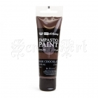 Akrylová barva - Art Alchemy Impasto Paint Dark Chocolate Finnabair Prima Marketing