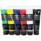 Akrylové barvy - Art Alchemy Impasto Paint Set Finnabair Prima Marketing