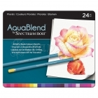 Akvarelové pastelky - AquaBlend Watercolour Pencils Florals 24pcs Spectrum Noir Crafter´s Companion