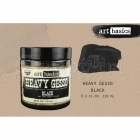 Art Basics Heavy Gesso 8.5oz Black - Prima Marketing Inc.