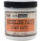 Art Basics Modeling Paste - Opaque Matte 8oz - Prima Marketing Inc.