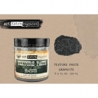 Art Extravagance Texture Paste -Graphite 8,5oz - Finnabair by Prima Marketing Inc.