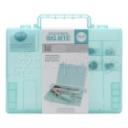 Crop-A-Dile II Big Bite Carrying Case Teal We-R-Memory Keepers