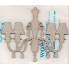 chipboard - Chandelier #3 WOW1078 WOW