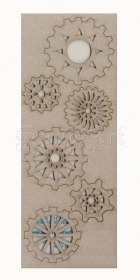 chipboard - Detail Cogs WOW235 WOW