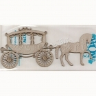 chipboard - Horse and Carriage WOW1795 WOW
