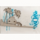 chipboard - Island Hut WOW2252 WOW