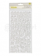chipboard - Lullabye Citrus Bliss Thickers Alpha Stickers Foil American Craft