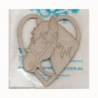 chipboard - SPony Love RWL9351 WOW
