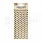 chipboard - Primed Chipboard - Chevron Little Birdie