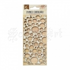 chipboard - Primed Chipboard - Circles Little Birdie