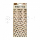 chipboard - Primed Chipboard - Honey Comb Little Birdie