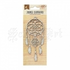 chipboard - Primed Chipboard - Layered Dream Catcher Little Birdie