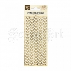 chipboard - Primed Chipboard - Seamless Arrows Little Birdie