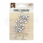 chipboard - Primed Chipboard - Tassel Berry Little Birdie