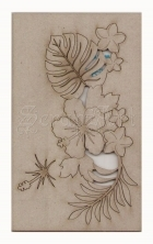 chipboard - Tropical  Flourish Spray WOW1588 WOW