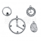 Clocks and Gears - Silver