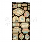Come Away With Me Chipboard Die-Cuts Decorative - Graphic 45