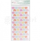 samolepky - Confetti Hearts Chipboard Fine and Dandy Thickers Alpha Stickers American Craft