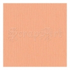 "Peach Glow 8x11"" - Bazzill Basic Paper"