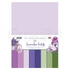 čtvrtky - Coloured Card Lavender Fields The Paper Boutique