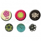 dekorace - Rosarian Cameos and Buttons 6 pkg Prima Marketing