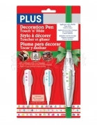 Dekorační pásky - Gift, Snowflake nad Tree Holiday Decoration Pen Set Plus