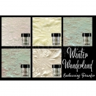 embossovací prášky - Two-Tone Embossing Powder Winter Wonderland Lindy´s Stamp Gang