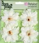 Beaded Peonies - Small - Cream - Petaloo International
