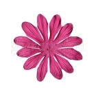 "Flowers Gerbera 4"" Hot Pink - Bazzill Basic Paper"