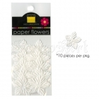 Paper Flowers Mini Poinsettia - Bazzill Basic Paper