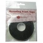 Lepicí páska 3D - Mounting Foam Tape Black 2mm Woodware Craft Collection