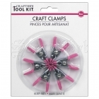Mini svorky - Craft Clamps 6 Pkg