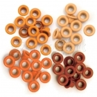 průchodky - Standard Eyelets Orange We R Memory Keepers