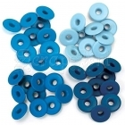 průchodky - Wide Eyelets Blue We R Memory Keepers