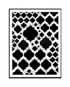 Marrakech Mix Stencil L177 - StencilGirl Products