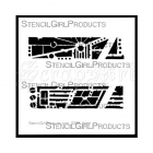 Urban Insiders Bar Stencil S268 - StencilGirl Products