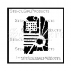 Urban Insiders Tag Stencil by Seth Apter - StencilGirl Products
