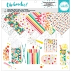 sada papírů - Glassine Paper Pack Oh Goodie! Pattern - We-R-Memory Keepers