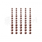 Chocolate Delight - Self-Adhesive Pearls - Queen & Co.