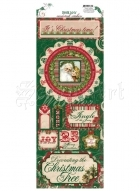 samolepky - Cardstock Stickers It´s Christmas Time Rejoice Bo Bunny