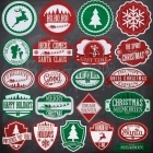 Labels - Chalkboard Christmas - Fancy Pants