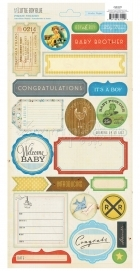 Little Boy Blue Sticker - Crate Paper
