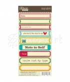 samolepky - Cardstock Stickers Sweet and Sour Soup Soup Labels
