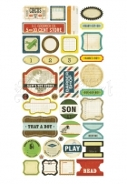 Toy Box Phrase Sticker - Crate Paper