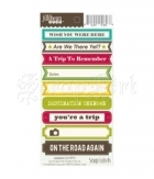 Vacation Soup Labels - Cardstock Stickers