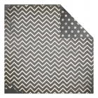 Charcoal Dot Chevron - Bo Bunny