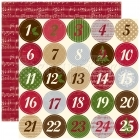Christmas Countdown - Merry Christmas - Echo Park