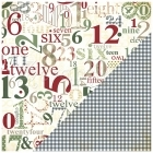 Countdown to Christmas - Believe - Bazzill Basic Paper
