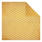 Maize Dot Chevron - Bo Bunny